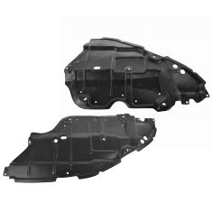 07-10 Toyota Camry (US Built); 07-11 Hybrid Front Lower Engine Splash Shield Pair