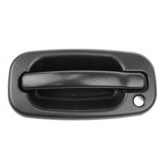 99-07 Chevy Silverado Textured Black Outside Door Handle LF