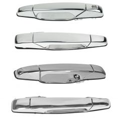 07-11 GM Full Size PU 4dr & SUV Chrome Outside Door Handle (Set of 4)