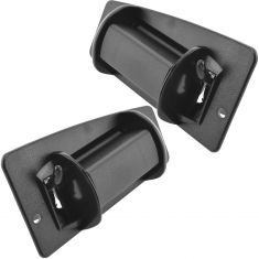 99-07 Silverado Sierra Metal Upgrade Door Handle o/s Ext Cab PAIR