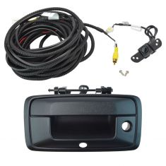 14-15 Silverado, Sierra 1500; 2015 2500, 3500  Rear View Back Up Camera Upgrade Kit (Add on Style)