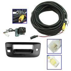07-13 Silverado, Sierra New Body PTM Rear View Back Up Camera Upgrade Kit (Add on)
