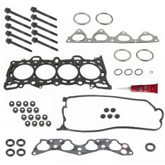 96-00 Honda Civic 1.6L SOHC Head Gasket with Bolts & High Temperature RTV Silicone Kit