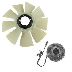 03-10 Dodge Ram 2500; 3500 5.9L 6.7L Radiator Fan Clutch & Blade Kit
