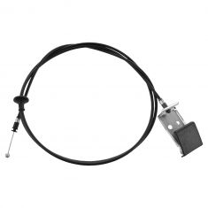 04-12 Chevy Colorado, GMC Canyon; 06-10 Hummer H3; 09-10 H3T Hood Release Cable w/Pull Handle