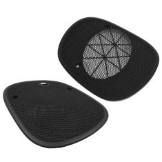 95-05 GM Mid Size SUV; 94-04 GM Mid Size PU Black Front Speaker Grille Cover Replacement Pair (GM)