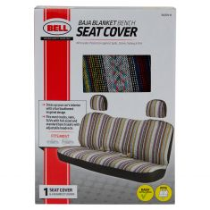 Bell Automotive: ~Baja Blanket Design~ Universal Bench Seat Cover w/Headrests