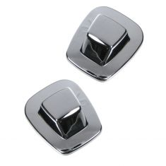 85-00 GM Truck Rear License Plate Lens Assy for Chrome Step Bumper PAIR