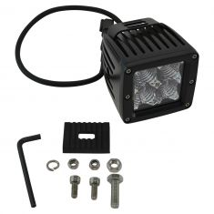 4 Inch - Square (12 Watt) Auxillary Flood Beam 4 LED Offroad Work Light