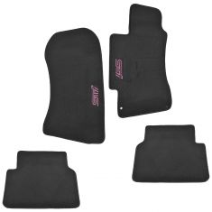 02-07 Subaru Impreza WRX STI Black Carpeted Embroidered