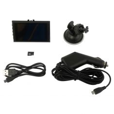 CAR and DRIVER: 1080P Ultra Slim Dash Cam w/Motion Dtection, Loop/Time Stamp/Night Vision (8GB Inc)