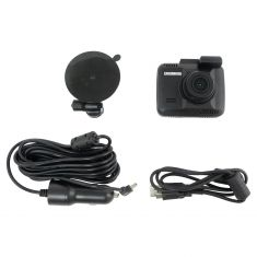 CAR and DRIVER: 2K Ultra HD Dash Cam w/Motion Detection, Loop/Time Stamp/Night Vision (8GB Card Inc)