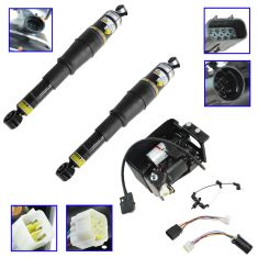 00-10 GM Full Size SUV; 03-06 Avalanche Air Ride Suspension Compressor & Rear Air Spring Kit