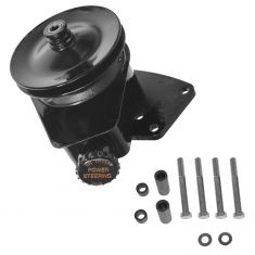63-77 Ford, Lincoln, Merc w/289, 302, 351W SBF (Saginaw) Power Steering Pump w/Bracket Upgrade Kit