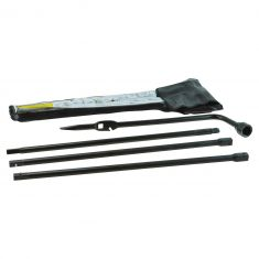 99-15 GM Full Size PU, SUV Spare Tire Lug Wrench & Jack Tool Kit