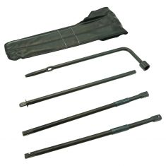 04-12 Colorado, Canyon; 06-10 Hummer H3 Spare Tire Lug Wrench & Jack Tool Kit w/Bag