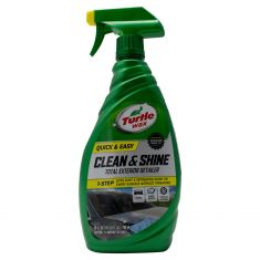 Turtle Wax: Quick & Easy Clean & Shine Total Exterior Detailer w/Spray Trigger (26 Fluid OZ)