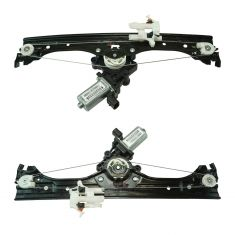 12-13 Fiat 500; 14-17 500 2DR; 12-16 500C Conv Front Door Power Window Regulator w/Motor Pair (FIAT)