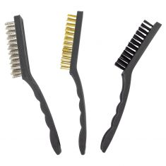 3 pc 9 In Brush Set - Plastic