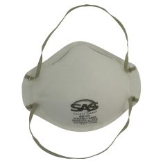 Disposable NIOSH Approved N95 Particulate Respirator w/Adjustable Nose Bridge & Foam Strip (20/BOX)