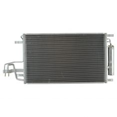 05-09 Kia Sportage; 10 Sportage (exc 2.4L); 05-09 Tucson (w/ Code DCC) AC Condenser w/Receiver Dryer