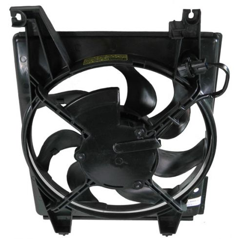 01-06 Hyundai Elantra Condenser Fan Assembly