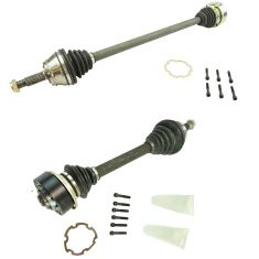 95-02 VW Cabrio; 93-99 Golf Jetta Manual Transmission CV Axle Front PAIR