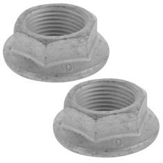 Buick; 03-14 Cdy; 00-15 Chvy; 07-15 GMC; 95-02 Olds; 04-09 Pnt; 05-07 Relay Axle Shft Nut Pair (GM)