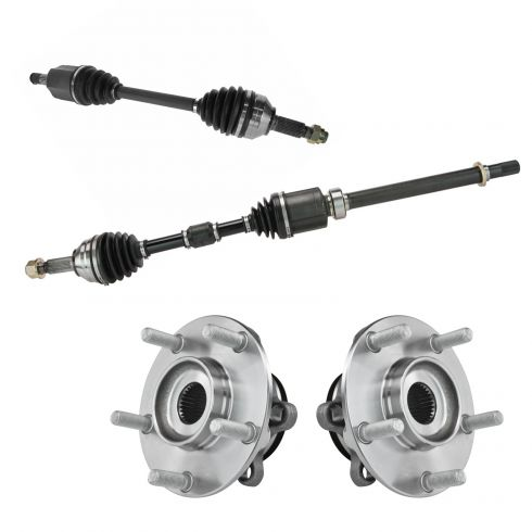 08-13 Rogue w/FWD (exc Mex Built); 07-12 Sentra Outer CV Axle Shaft & Hub Assemb