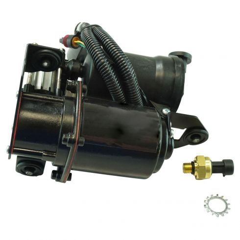 1AASC00009-Chevy GMC Cadillac Air Ride Suspension Compressor with Dryer
