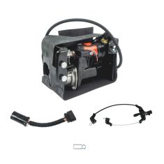 01-14 GM Full Size SUV; 03-06 Avalanche Complete Air Ride Susp Compressor Assy (w/Dryer, Case) (DM))