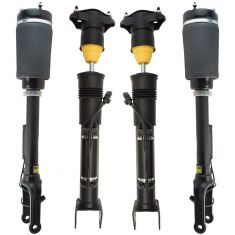 05-11 Mercedes Benz ML-Class; 07-12 GL-Class (w/ ADS) Front & Rear Air Shock & Strut Kit 4pc
