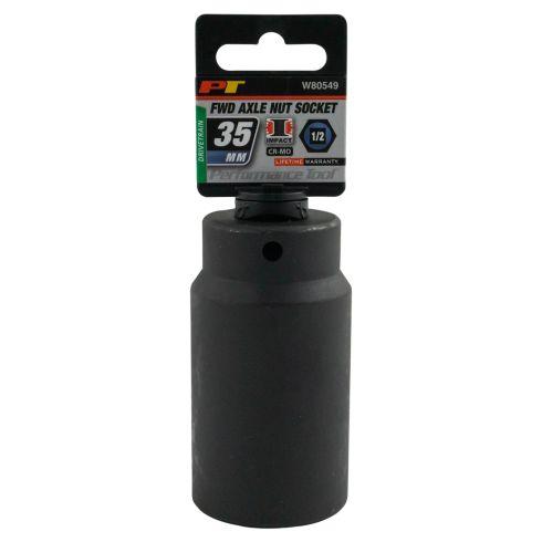 35MM 6PT 1/2 Drive Deep Well Impact Socket