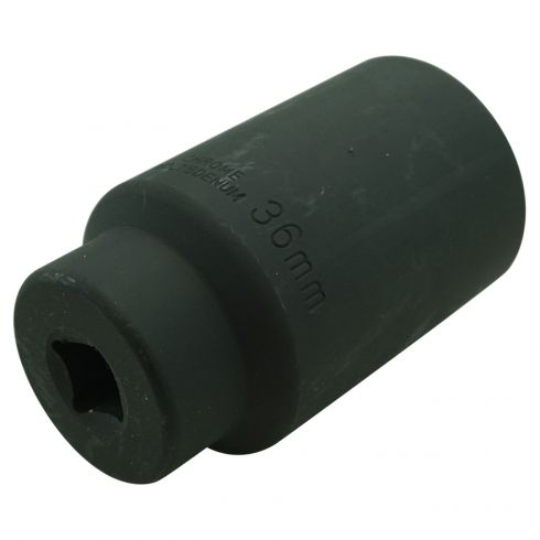 36MM 12PT 1/2 Drive Deep Well Impact Socket