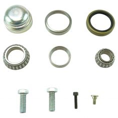94-00 C280; 98-04 SLK230 Front Wheel Bearing, Seal, Cap Kit LH = RH