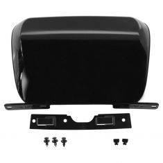 07-14 Subrban, Tahoe, Yukon, XL Rear Bmpr Mtd Black (RPO 41U) Trailer Hitch Cover w/Install Kit (GM)