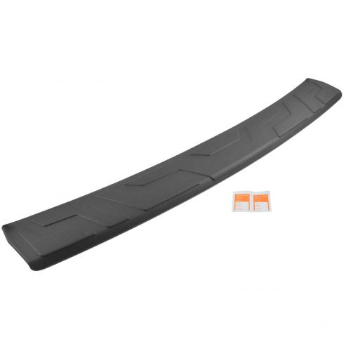 13-15 Subaru XV Crosstrek Upper Rear Bmpr Cover Mtd Adhesive Upper Black Protector Step Pad (Subaru)