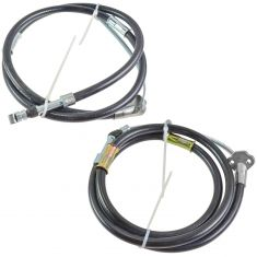 93-98 Toyota Paseo, Tercel Rear Parking Brake Cable PAIR
