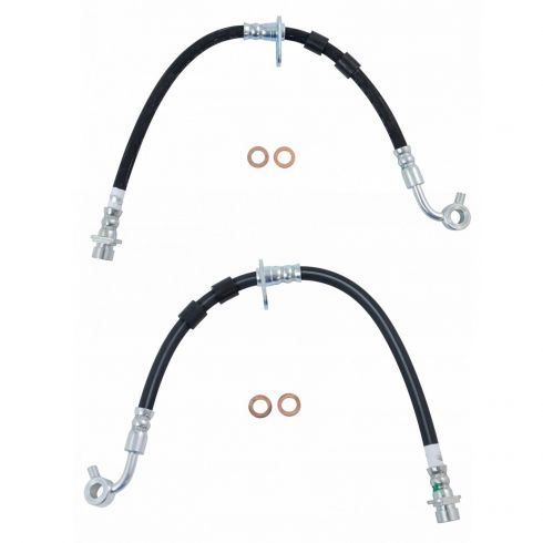 Brake Hydraulic Hose Front Right Centric 150.40068 fits 96-00 Honda Civic