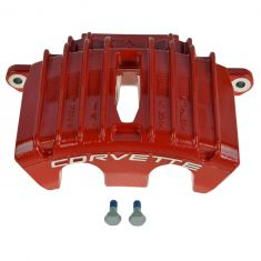 01-04 Chevy Corvette Z06 Torch Red Front Disc Brake Caliper RF (AC DELCO)