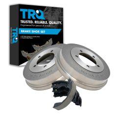 Rear Brake Drum & Shoe Set (AUTO EXTRA AX35016 & AXS658)