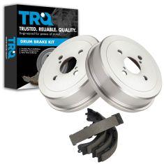 Rear Brake Drum & Shoe Set (AUTO EXTRA AX3578 & AXS597)