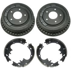 Rear Brake Drum & Shoe Set (AUTO EXTRA AX8798 & AXS242)