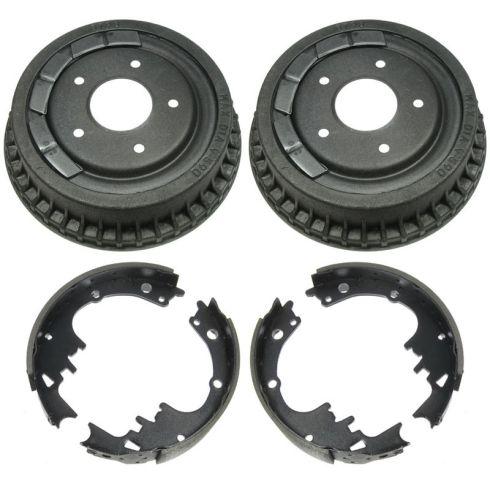 Rear Brake Drum & Shoe Set (AUTO EXTRA AX8798 & AXS242)