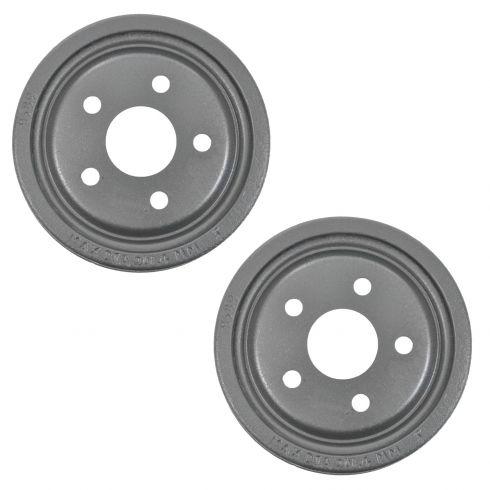 How to Replace Brake Drum 95-02 Pontiac Sunfire | 1A Auto
