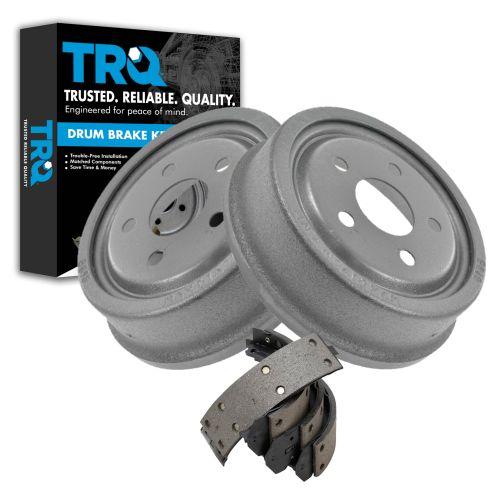 Rear Brake Shoe & Drum Set AXS553R, AX8898