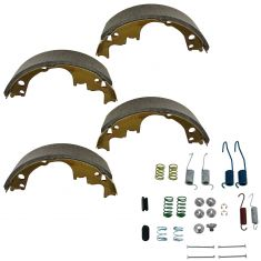 Rear Brake Shoe & Hardware Set (514, H7104)