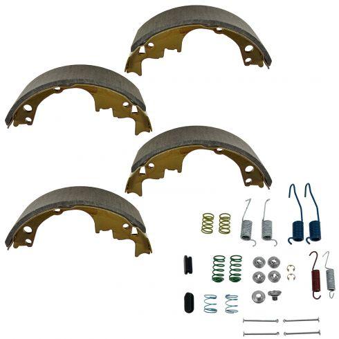 Rear Brake Shoe & Hardware Set (514, H7104)