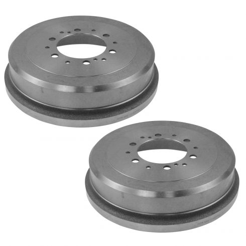 86-02 4Runner; 93-98 T100; 95-04 Tacoma; 86-95 Toyota PU; 00-02 Tundra Rear Brake Drum PAIR