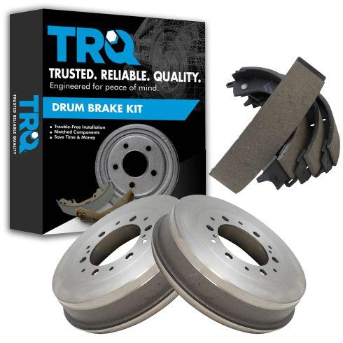 05-14 Toyota Tacoma (w/6 Wheel Studs) Rear Brake Drum & Brake Shoe Kit